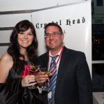 Amber and Chris Erickson (Martini Glass Artist)