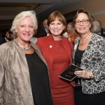 Dr. Gay Pepper, Carol Boyd, Linda Flewelling