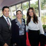 Andres Paz, Claudia Valdes, Mayela Rosales