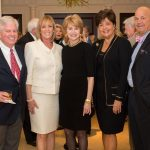 Jeff and Sallie Miller, Jane Pauley, Christina and Guy Inslee