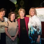 Christina Inslee, Donna Loomis, Jane Pauley, Sallie Miller