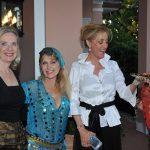 Colette Beringer, belly dancer, Kaleigh Grover, snake charmer