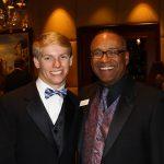 Matt Milligan with Norman Wedderburn, President/CEO of Make-A-Wish Southern Florida