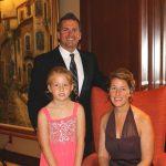 Tony, Morgan and Mary Franklin