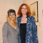 Kelly Capolino, Founder of Diamond Volunteer Awards, and Rosemarie Kirk, President of the Pilot Club of Naples