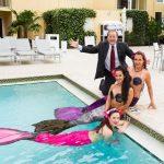 John Cox with Mermaids