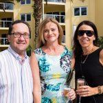 Rabbi Michael Raab, Madi Cona, Kate Bullock