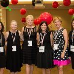 Donna Giasi, Claudia Berman, Connie Sharpe, Miriam Ross, Diana Richter, Mary Cadieux