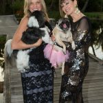 Alison Whalen with Tucker, Marie Christine St. Pierre with Jicky