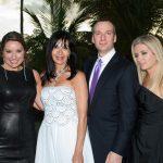 Teala Comer, Jennifer Conery, Kyle and Helena Reed