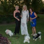 Shannon Livingston with Zelda, Lisa Spiller with Muppet, Mary Kaye Reuth with Giuseppe