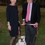 Sandi and Tom Moran with Hattie