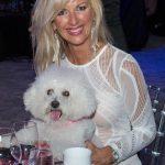 Lisa Spiller with Muppet