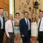 Derek Perry, Ray and Ashley Martinez, Kara and Nicholas J. Kouloheras, Brian Castellani