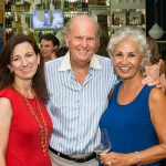Daphne Nikolopoulos, Bill Schmigle and Fauzia Tahiry