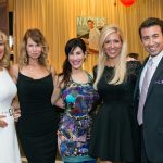 Kaleigh Grover, Stacey Herring, Sharon DeLaura, Lori and Chad Oliver