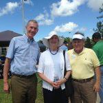 Bill Burke, Betty and Marcelo Alvarez