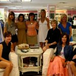 Designers and trunk show attendees