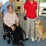 Margo Pictor, Linda Zsidai, Joan Heddick with Tex