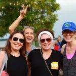 Rachel Priske, Samantha Baranowski, Jeannie Weingarten, back: Claire Pinckney