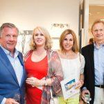 Larry and Janet Cone, Teresa Benjamin, Bruce Ellis