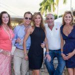 Vicki Dedio, Greg and Roslyn Franklin, Peter Sereno, Ashley Porraro