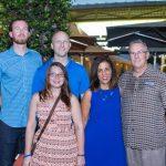 Zachary Smith, Heather Olson, Andrew Smith, Dina Smith, Tom Smith