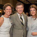 Suzanne Graziano, Dr. Allen Weiss, Sharon Treiser