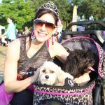 Sharon DeLaura with Miss Pearl Bug and Magnus