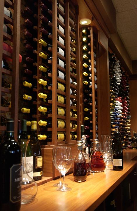 Seasons 52 wine cellar