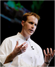 Chef Grant Achatz of Alinea and Next