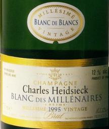Charles Heidsieck Blanc des Millenaires 1995