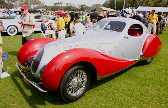 1937 Talbot Lago T-150-C - Amelia Island Concours d'Elegance - The Wheel World blog with Howard Walker