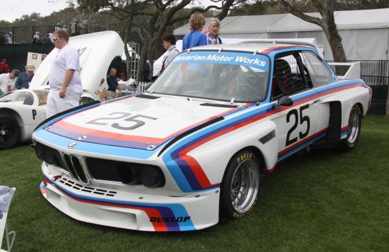1975 BMW 3.0 CSL - Amelia Island Concours d'Elegance - automotive editor Howard Walker
