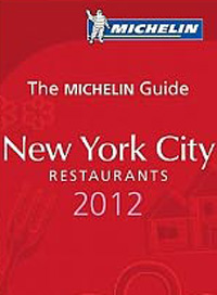 2012 Michelin Guide to New York City restaurant