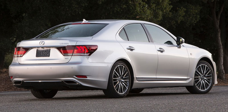 new 2013 Lexus LS 460 F Sport - luxury autombile redesign