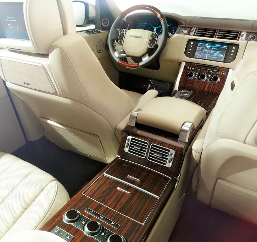 2013 Range Rover - interior - customizable interior