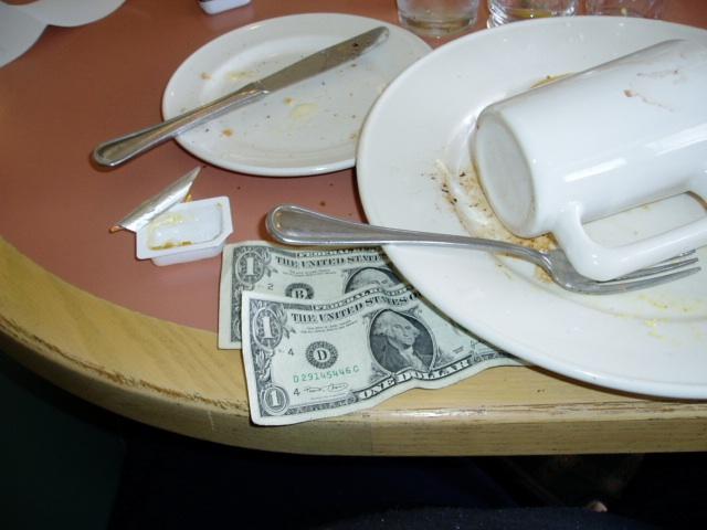 Controversy over restaurant gratuities