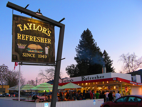 Taylor's Refresher in Napa Valley