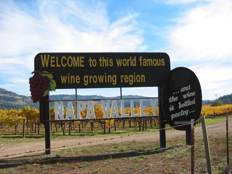 Napa Valley tourism and lifestyle