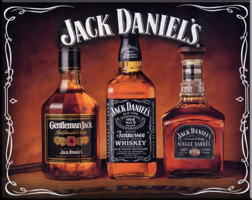 Jack Daniel's whiskies: Black Label, Gentleman Jack and Single Barrel