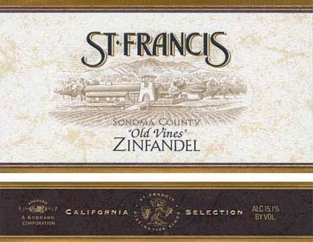 St. Francis Old Vine Red Zinfandel