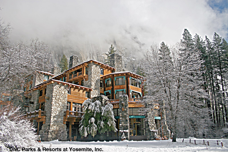 The Ahwahnee Hotel - Yosemite National Park - DNC Parks & Resorts at Yosemite