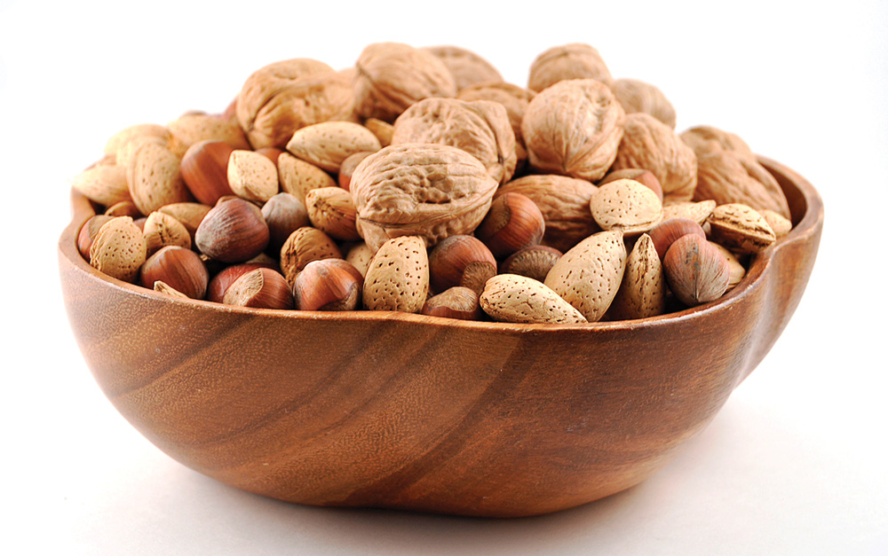 Assorted Nuts - Pantry Essentials for Raw Dieting - Easy Raw: Raw DIeting Tips, Recipes & More