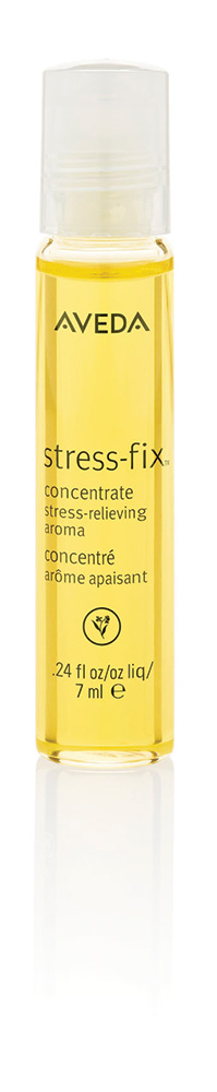 Aveda's Stress-Fix concentrate lets you roll with the changes