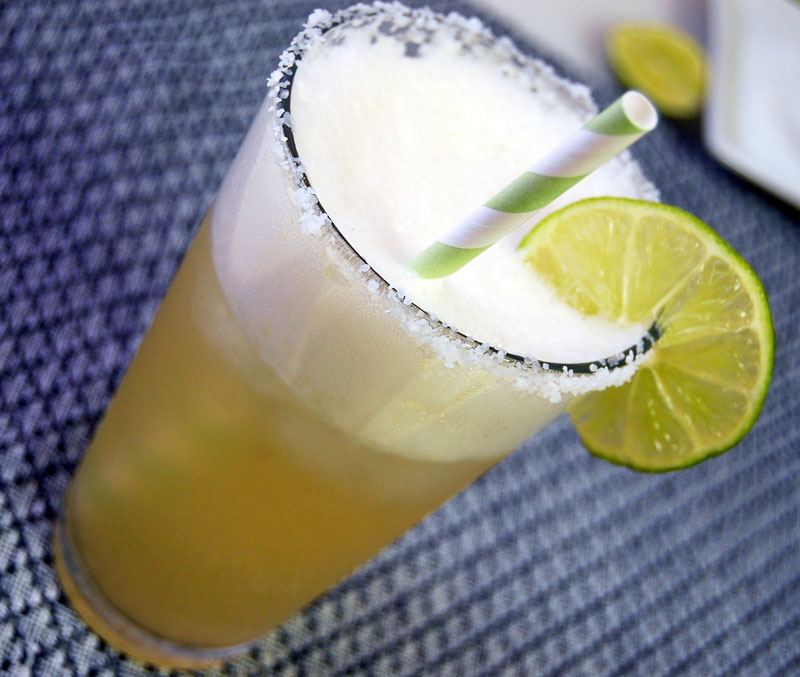 Beer-Margarita - Beer cocktails for Labor Day - Pacifico lager with 1921 Tequila Anejo
