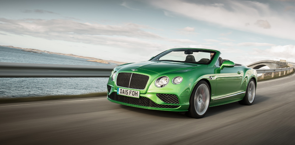 Bentley Continental GTC Speed - Luxury Convertibles - Top 10 Supercar Convertibles for 2016
