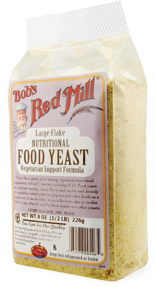 Bob's Red Mill - Large Flake Nutritional Food Yeast - Raw Dieting Pantry Essentials - Easy Raw: Raw Dieting Tips, Recipes & More
