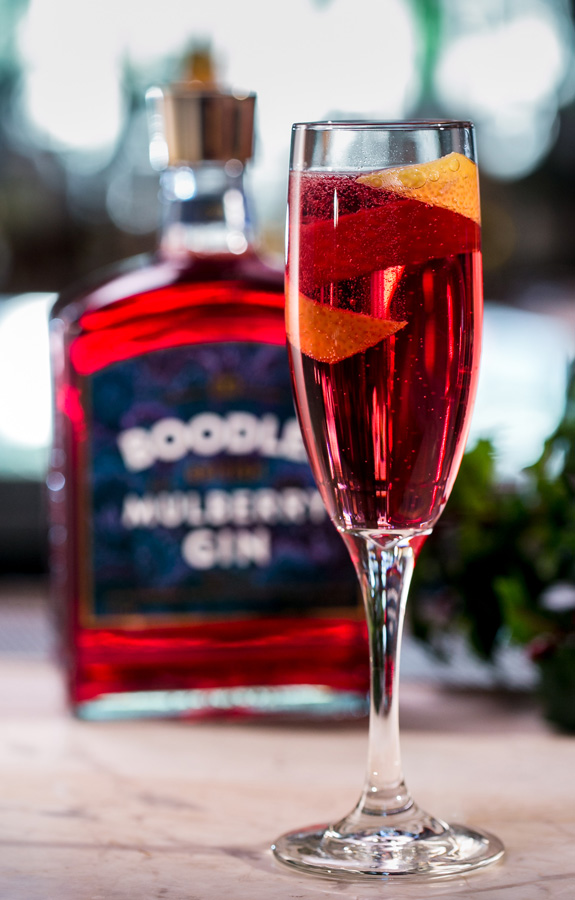Boodles Mulberry Gin - Boodles Royale sparkling cocktail recipe