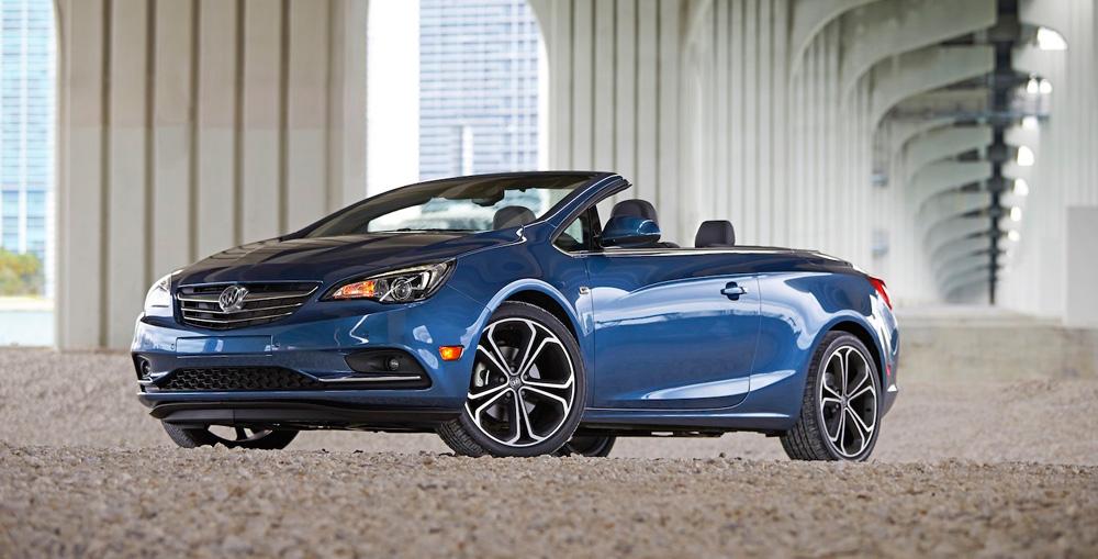 Buick Cascada - luxury convertible - preview of the Cascada